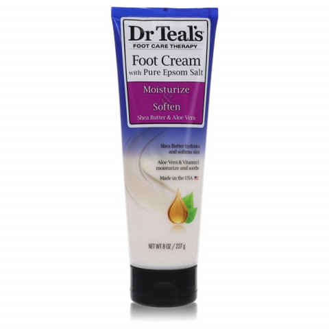 Dr Teal's Pure Epsom Salt Foot Cream - Dr Teal's