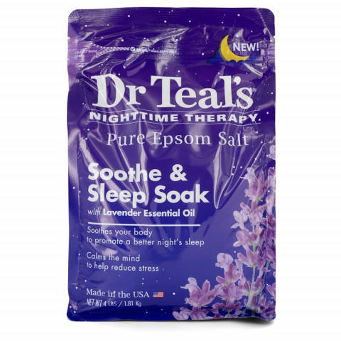 Dr Teal's Nighttime Therapy Pure Epsom Salt - Dr Teal's