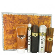 Gift Set -- 100 ml Eau De Toilette Spray + 100 ml After Shave Spray + 200 ml Body Deodorant Spray + 200 ml Shower Gel +  35 ml EDT Spray