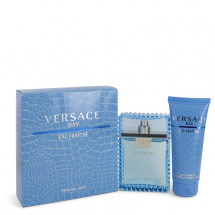 Gift Set -- 100 ml Eau De Toilette Spray (Eau Frachie) + 100 ml Shower Gel