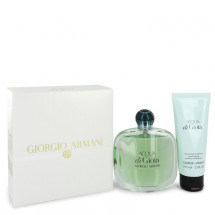 Gift Set -- 100 ml Eau De Parfum Spray + 75 ml Body Lotion