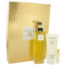 -- Gift Set - 125 ml Eau De Parfum Spray + 4 ml Mini + 100 ml Body Lotion