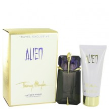 Gift Set -- 60 ml Eau De Parfum Spray Refillable + 100 ml Body Lotion