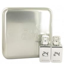 Gift Set -- 24 Platinum 50 ml Eau De Toilette Spray + 24 Platinum Oud 50 ml Eau De Toilette Spray