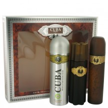 -- Gift Set - 100 ml Eau De Toilette Spray + 100 ml After Shave Spray + 200 ml Body Deodorant Spray