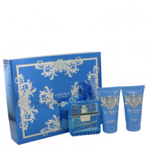 Gift Set -- 50 ml Eau De Toilette Spray (Eau Fraiche) + 50 ml Shower Gel + 50 ml After Shave Balm