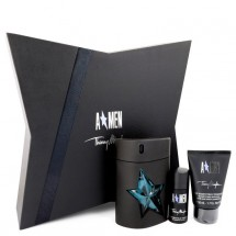 Gift Set -- 100 ml Eau De Toilette Spray Refillable ( Rubber Bottle) + 50 ml Hair & Body Shampoo + 21 ml Deodorant Stick (Alcohol Free)