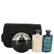 Gift Set -- 100 ml Eau De Toilette Spray + 75 ml After Shave Balm 75 ml Shower Gel + Pouch