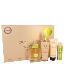 Gift set -- 105 ml Eau De Parfum Spray + 50 ml Body Spray + 100 ml Body Lotion + 250 ml Fragrance Body Spray