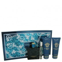 Gift Set -- 100 ml Eau De Toilette Spray + 9 ml Mini EDT Spray + 100 ml After Shave Balm + 100 ml Shower Gel