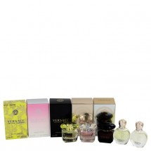 Gift Set -- Miniature Collection Includes Yellow Diamond, Bright Crystal, Crystal Noir, Eros EDP and Eros EDT