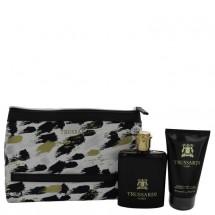 Gift Set -- 100 ml Eau De Toilette Spray + 100 ml Shower Gel + Trusssardi Pouch