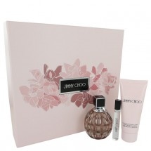 Gift Set -- 100 ml Eau De Parfum Spray + 3.3 Body Lotion + 7 ml Mini EDP Spray