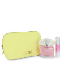 Gift Set -- 90 ml Eau De Toilette Spray + 9 ml Mini EDT Spray In Versace Pouch
