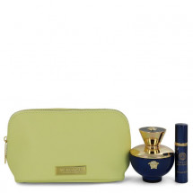 Gift Set -- 100 ml Eau De Parfum spray + 9 ml  Mini EDP Spray  In Versace Pouch