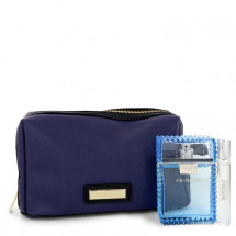 Gift Set --  100 ml Eau Fraiche Eau De Toilette Spray + 9 ml  Mini EDT Eau Fraiche Spray In Versace Blue Pouch