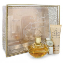 Gift Set -- 100 ml Eau De Parfum Spray + 75 ml Body Lotion + Watch