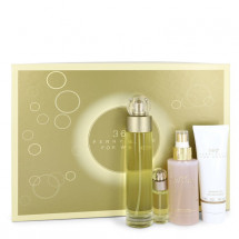Gift Set -- 100 ml Eau De Toilette Spray + 120 ml Body Mist + 90 ml Shower Gel + .25 Mini EDT Spray