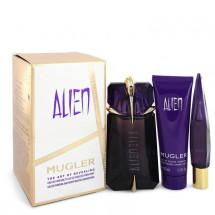 Gift Set -- 60 ml Eau De Parfum Spray + 9 ml Mini EDP Refillable Spray + 50 ml Shower Gel