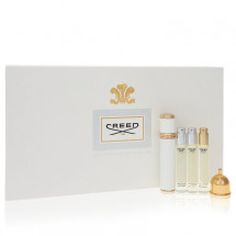 Gift Set -- Women's Travel Atomizer Coffret includes Acqua Fiorentina, Aventus for Her, Love in White, all in 10 ml Mini EDP Sprays