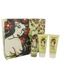 -- Gift Set - 50 ml Eau De Parfum Spray + 90 ml Body Lotion + 90 ml Bath & Shower Gel