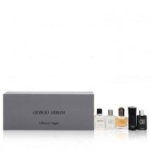 Gift Set -- Travel Set Includes Armani, Stronger With You and Acqua Di Gio Profumo in 7 ml + Armani Code in 4 ml and Acqua Di Gio in 5 ml