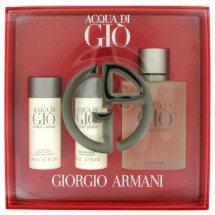 Gift Set -- 100 ml Eau De Toilette Spray + 50 ml After Shave Balm + 50 ml Hair & Body Shampoo