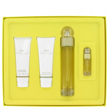 -- Gift Set - 100 ml Eau De Toilette Spray + 90 ml Shower Gel + 90 ml Body Lotion + 7 ml Mini EDT Spray